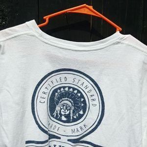 Brixton Indian Chief Men's Large Pocket T-Shirt
